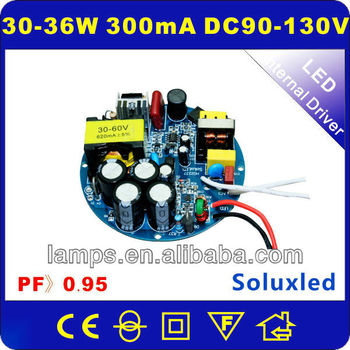 LED Driver power supply with constant current 36W