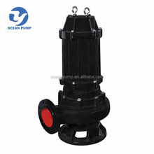 centrifugal electric submersible sewage cutter pump