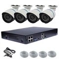 Hot sell !!! 720P IP Economic POE NVR KIT Outdoor Security Camera Systems