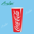 22oz cold drink paper cup double PE coated cola paper cup