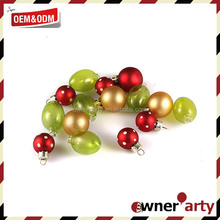Hot Sell Christmas Plastic Ornament Balls