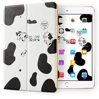 Rich color Snow proof Cute Lovely pattern Universal Protective Ultra thin case kids double fold cover for ipad mini