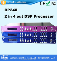 Gain,EQ(PEQ),crossover,Delay,Mute,Limiter Practical Application DSP Digital Audio Effect Processor