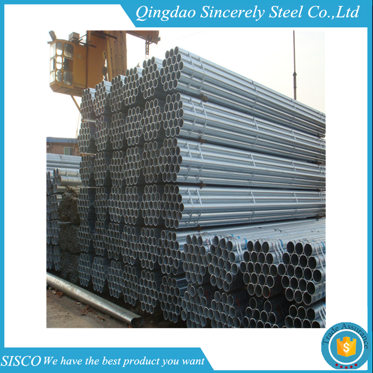 SGS inspection erw spiral welded steel pipe