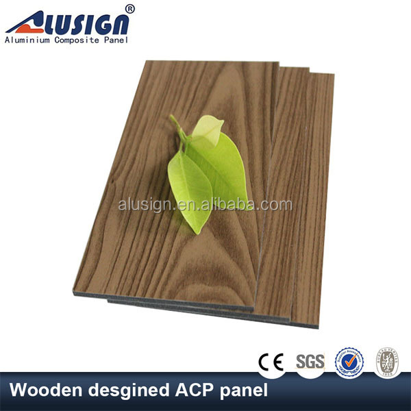 Alusign Professional factory supply wood plastic wall cladding