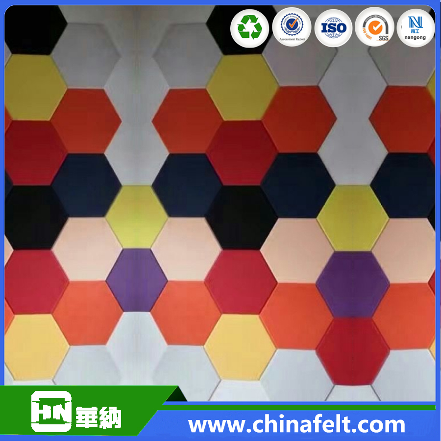 Sound Proof Polyester Acoustic Panel For Interior Wall