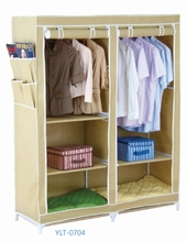 cheap folding assembled wardrobe furniture for wholesale