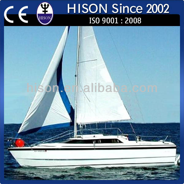 Hison manufacturing most popular sailing catamarans