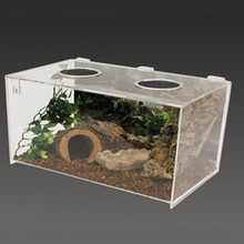 Custom Simple Rectangular Clear Acrylic Perspex Pet Hamster Cage