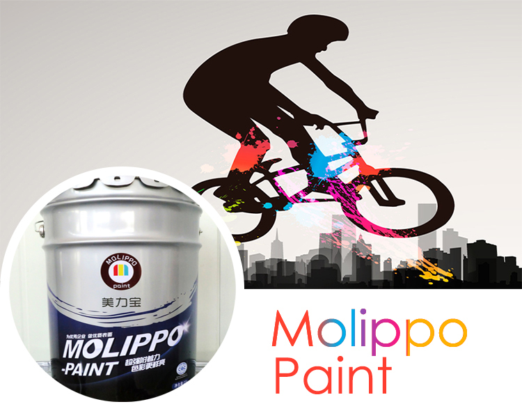 Amino alkyd baking paint for bicycle
