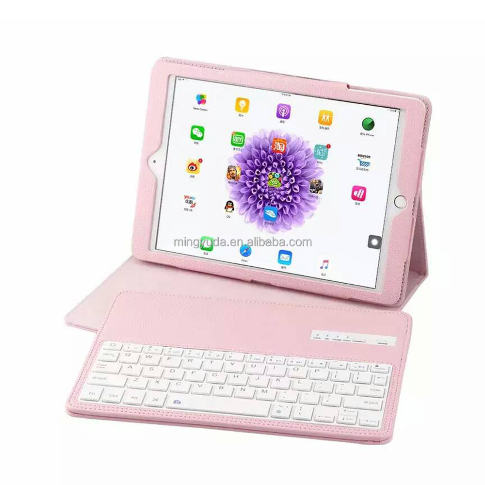 China factory supply detachable function PU leather case for ipad IOS OEM keyboard case