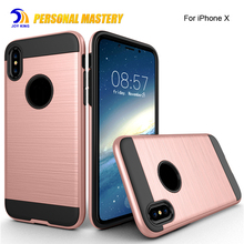 for iphone x Armor case 2017 New Arrival Shockproof Slim Cover PC + TPU Hybrid Phone Case For apple iPhone X 8 8 plus 7 plus