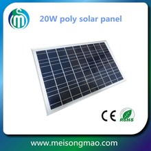 Price for 20W 25W 30W solar panel high quality hot sale poly solar pv module