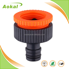 "Hose connector water pipe connector faucet connection 3/4""-1"" female plastic tap adaptor"