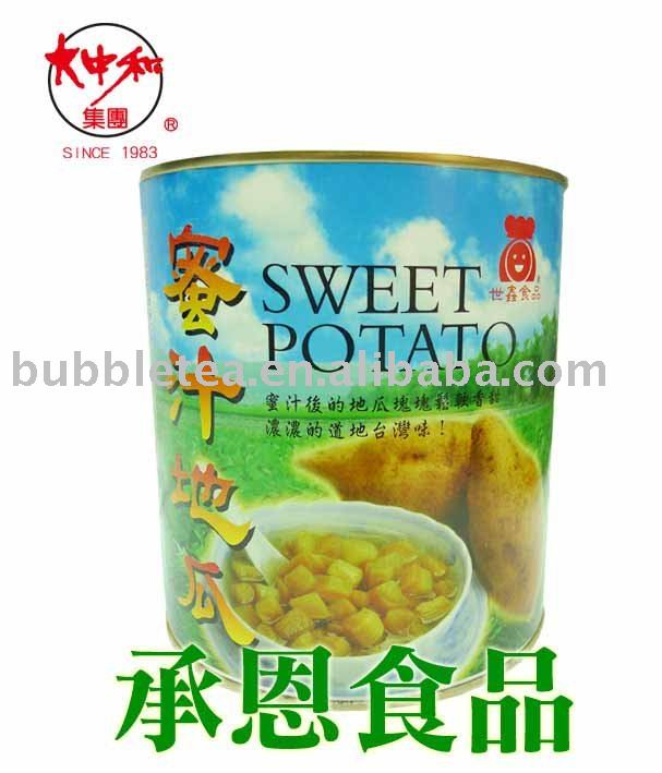 0120 Sweet Potato Can for Bubble Tea or Taiwan Shaved Ice