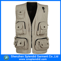 High quality multi function photo work mesh travel vest