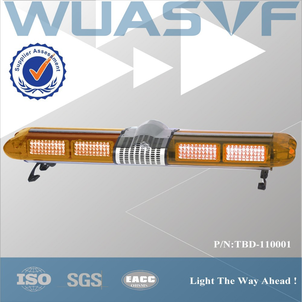 red/blue/amber LED police car light