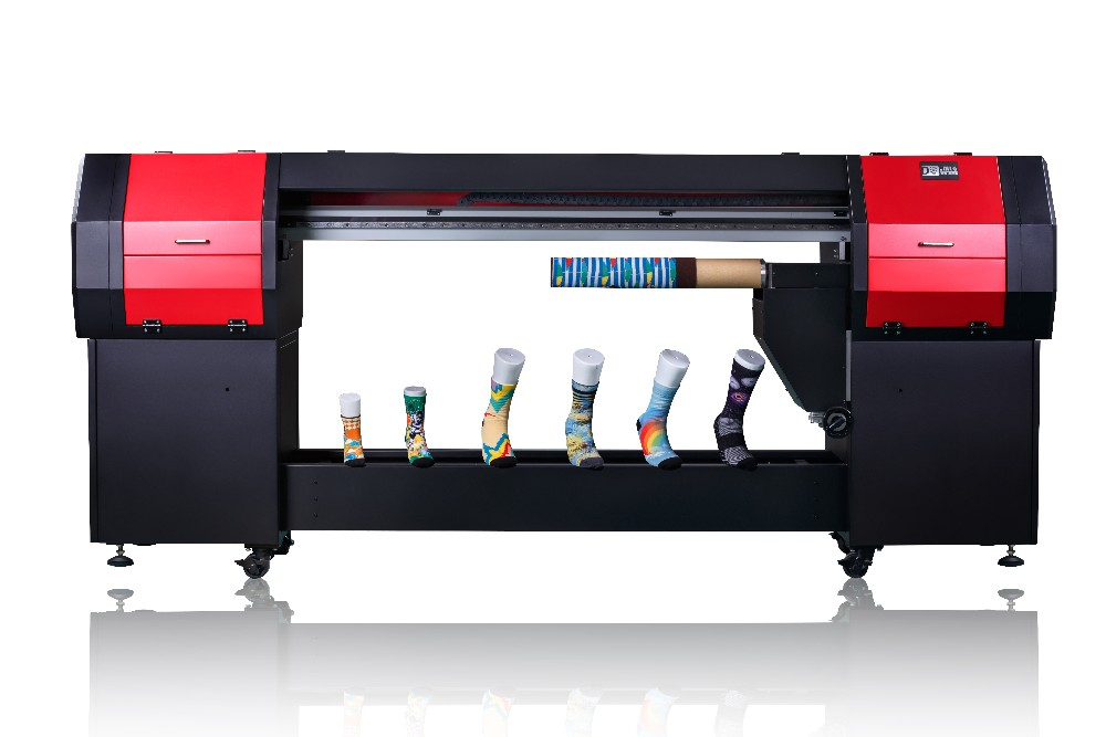 2016 High-end textile 3D digital printing direct injection equipment