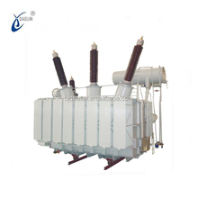 110kv high voltage oil filled Power Transformer 90 mva big capacity electric transformer