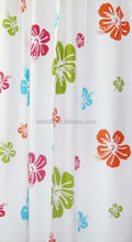 flower printed EVA bath curtain, good quality,180*180cm