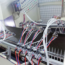 Auto parts/car accessories UV spraying line