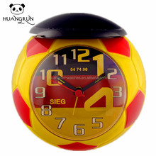 World cup winner! High quality table clock for sale for german flag table clock