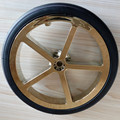 PU Foaming Rubber Solid Stroller Tyre Manufacturer
