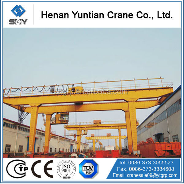 Safety & Durable Double Beam Gantry Crane Wheel