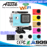 4K 24fps under water camera underwater digital camera zoom professional waterproof camera SJ8000