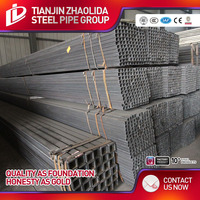 EN10219 cold formed square tubes steel hollow section