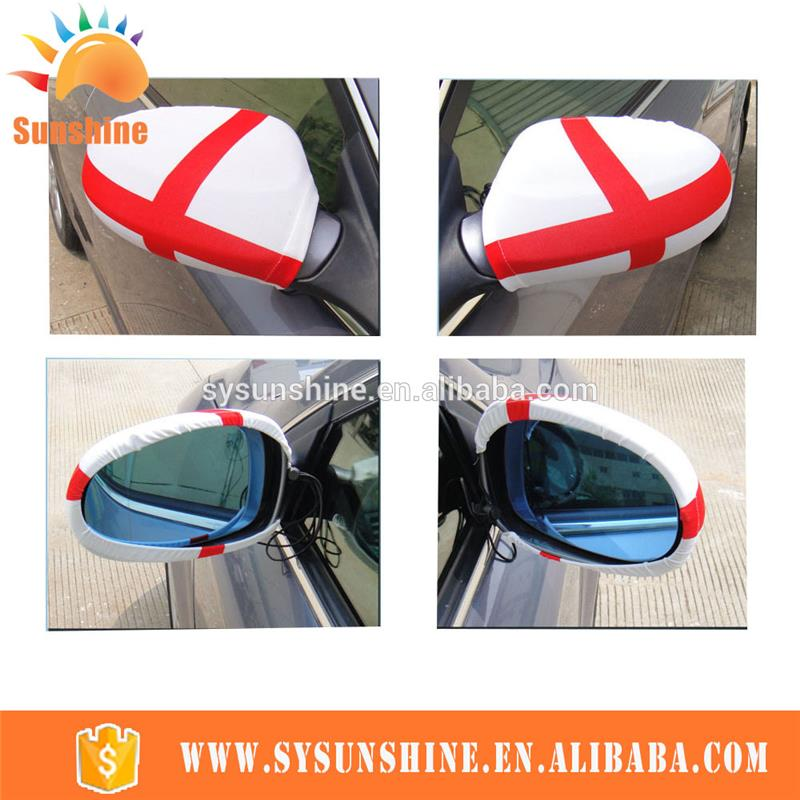 Custom Flexible car mirror sock side mirror flag cover with your logo