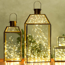 Factory sale cheap small 20 battery powered operated string lanterns outside led fairy lights