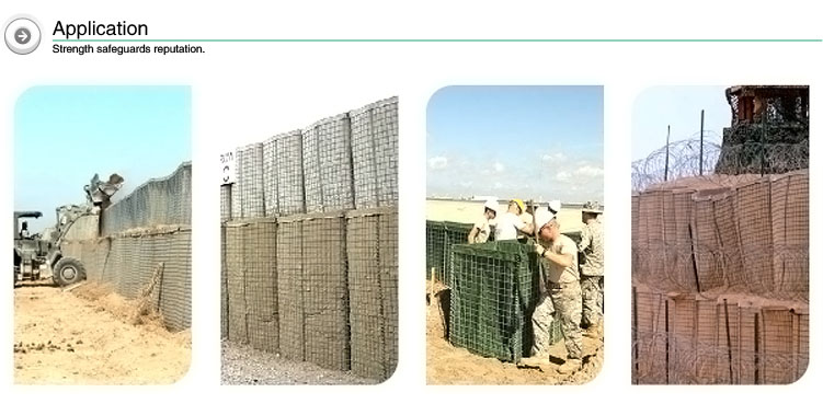 Hot sale military sand wall hesco barriers for sale price