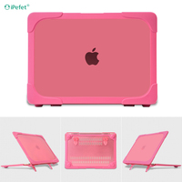 Stylish High Quality Ultra Thin Clear Flip Laptop Case For Macbook Case