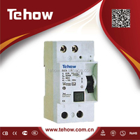 Electrical item residual current circuit breaker dz47-63 circuit breaker 240v/415v 60A