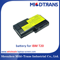 Laptop battery for IBM T20 11.1V 5.2Ah Black