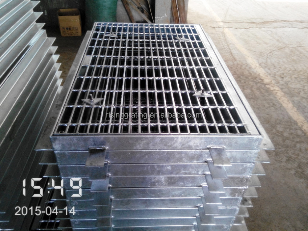drain cover outdoor drain cover iso9001steel material galvanized australian standard trench