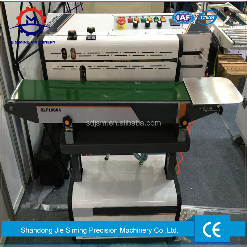 Plastic bags continuous vertical sealing machine with nitrogen