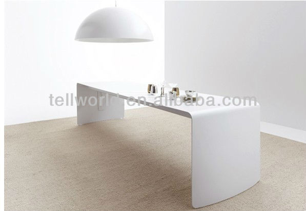 exclusive modern office modified solid surface cheap fancy office desk design
