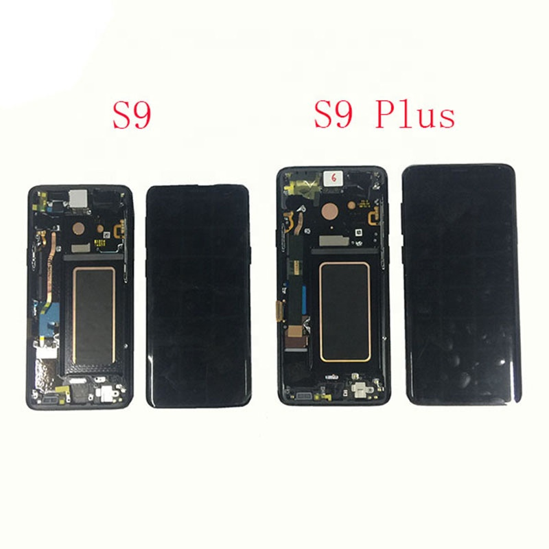 Best Quality Lcd With Digitizer Assembly with Frame For Samsung S9 Original