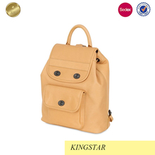 Popular Customized practical leather backpack