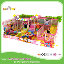 Free Design Candy Theme Park Indoor Playground, Kids Indoor Soft Playground with Innovative Games