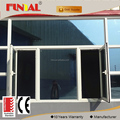 High end European Design Customised Aluminum casement window with 20000 square meters factory