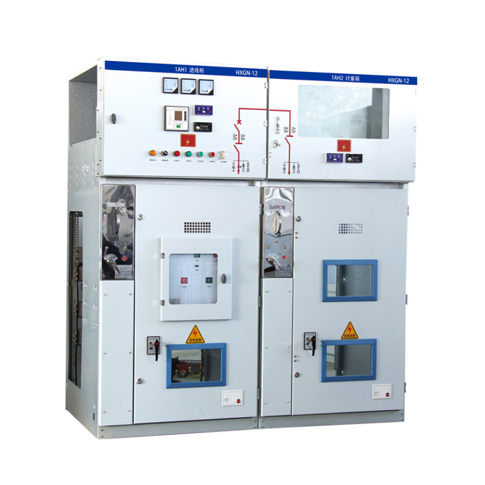 HXGN12-12 High Voltage Ring Cabinet switchboard <strong>electricity</strong> cabinet high voltage switchgear