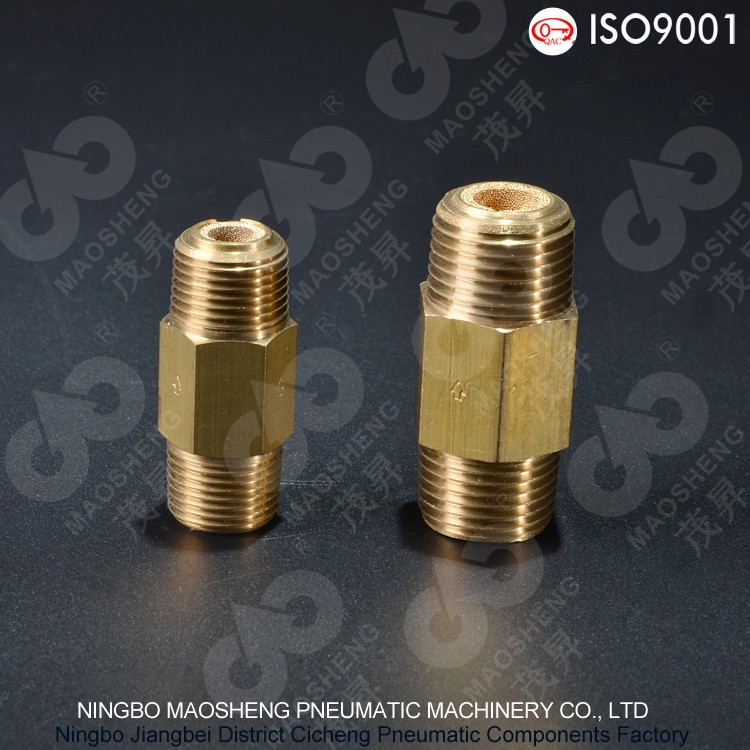 ASP Type Double Thread Copper Sintered Muffler