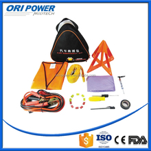 OP manufacture FDA CE ISO approved customized hot sale black nylon emergency car accident first aid kit