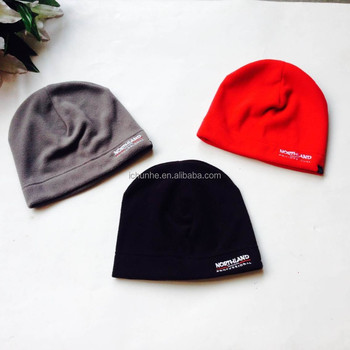 factory direct sell new winter fashion mens and womens embroidery logo polar fleece hat