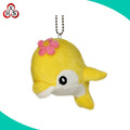 Custom sea animals keychain plush whale keychain