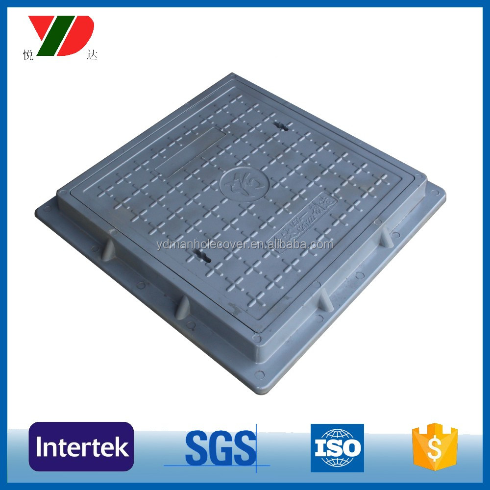 900*900 wholesale composite plastic manhole cover and frame