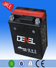 Fast charging 12v 6ah MF lead acid motorcycle battery dependable